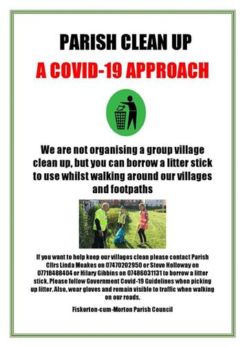 - Help keep our Villages clean
