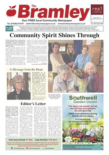 - THE BRAMLEY APPLE NEWSPAPER IS AVAILABLE FOR COLLECTION